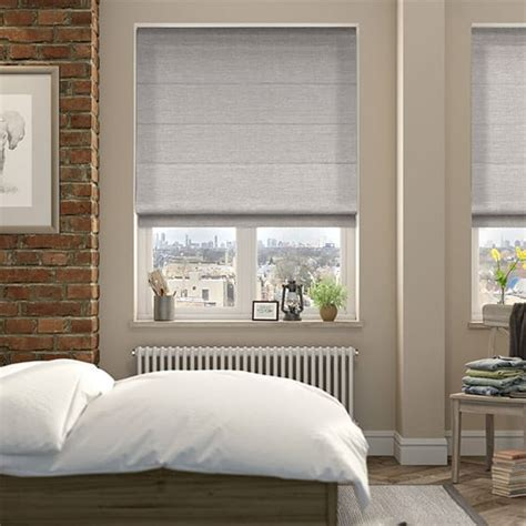 Grey Roman Blinds, Soft & Stunning Grey Shaded Blinds 2go™