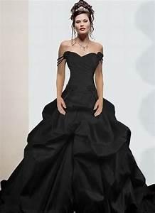 2018 new black taffeta sexy wedding dress ball gown size 6 With dressy black dress for wedding