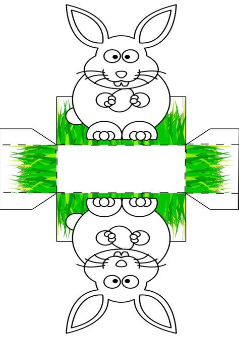 bücher falten vorlagen zum ausdrucken osterk 246 rbchen vorlage malen basteln babyduda 187 bastelstra 223 e