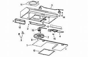 Broan Model Qml30bl Range Hood Genuine Parts