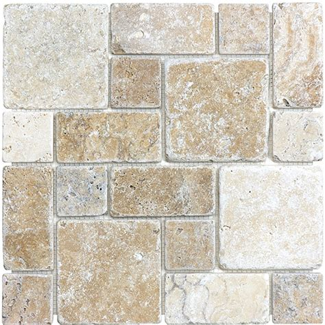 casa antica travertine tile ceramic tiles pattern mosaic tumbled