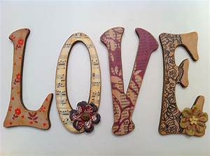 valentine one wooden letters for walls With where to get wooden letters