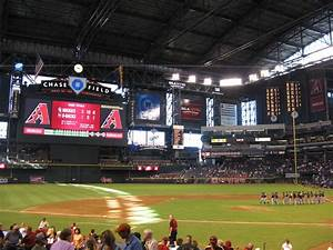 Arizona Diamondbacks vs. Colorado Rockies, Chase Field ...
