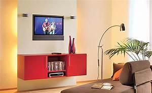 Tv An Wand Anbringen : tv wand mit h ngeschrank b rom bel mediam bel ~ Markanthonyermac.com Haus und Dekorationen