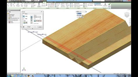 woodworking miter folding  autodesk inventor