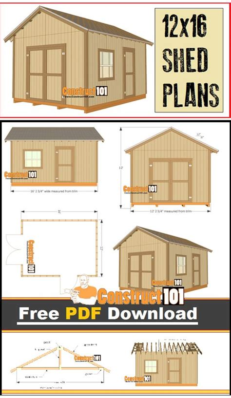 best 25 shed plans ideas on pinterest building a shed