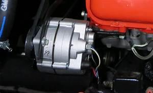1966 427 Alternator Position
