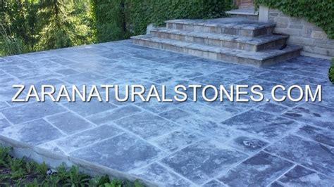 antique black patio stones toronto woodbridge weston
