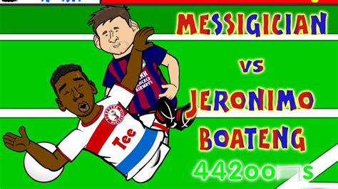 lionel messi  jerome boateng conspiracyfall goal