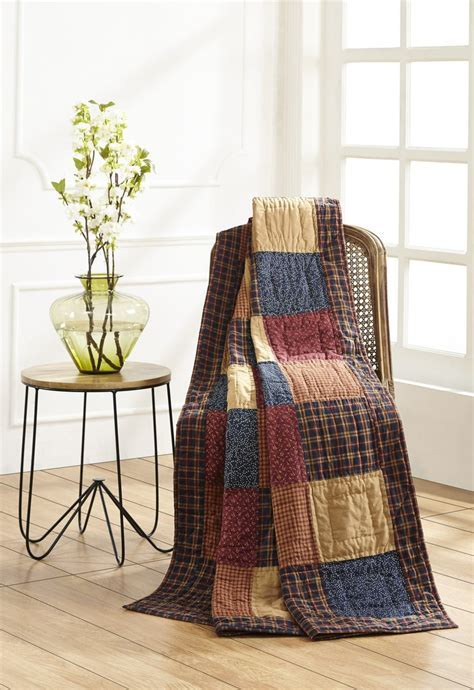 Old Glory Quilted Throw ? DL Country Barn