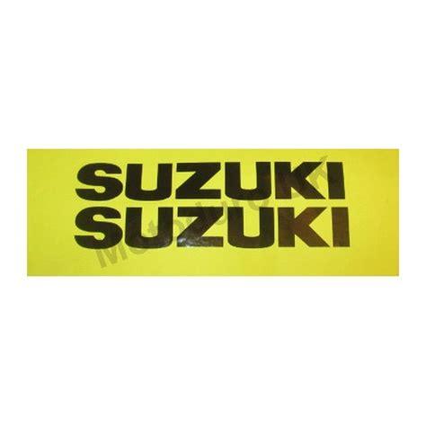 tank decals suzuki rm125 250 370 1976 77