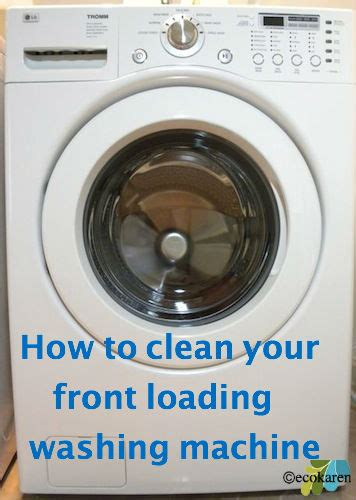 hometalk   clean  front loading washing machine