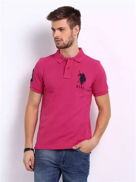 grown male  wear pink  shirts