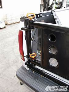 Easy Spare Tire Carrier Latching Pins