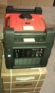 New Inverter Generator With Electric Start  U0026 Remote 3600w