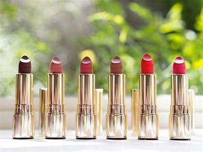 Clarins Rouge Joli Velvet Makeup Britishbeautyblogger Jolie