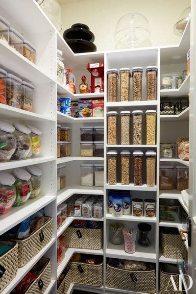 kitchen pantry ideas    stylish  organized space architectural digest