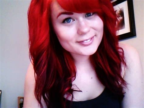 Dyed My Hair Ariel Red!