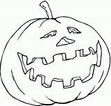 Coloring Pumpkin Printable Pages Bestcoloringpagesforkids Monster Pattern sketch template