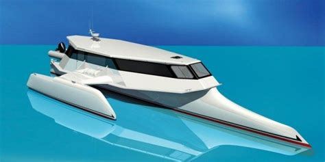 Fuel Efficiency Catamaran Vs Monohull by Trends In Power Catamaran Boat Design