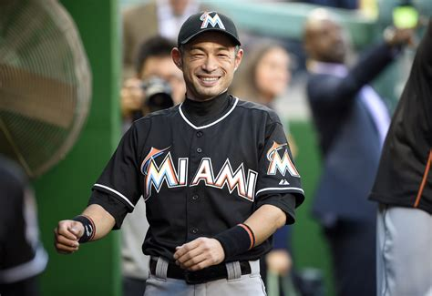 Ichiro Suzuki Team by Ichiro Stays Ready As He Learns National League The