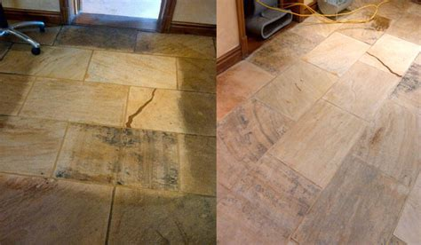Stone and tile floor cleaning