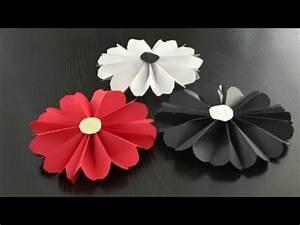 Einfache Papierblume Basteln : papierblumen basteln youtube ~ Eleganceandgraceweddings.com Haus und Dekorationen