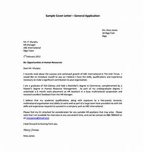 15 general cover letter templates free sample example With cover letter template free download
