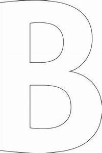 Large block letters template learnhowtoloseweightnet for Large b letter