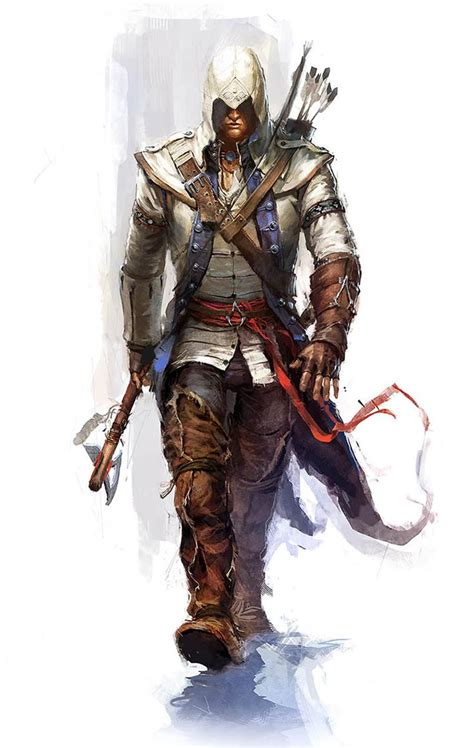 Assassins Creed Iii Art And Pictures Connor On A Mission
