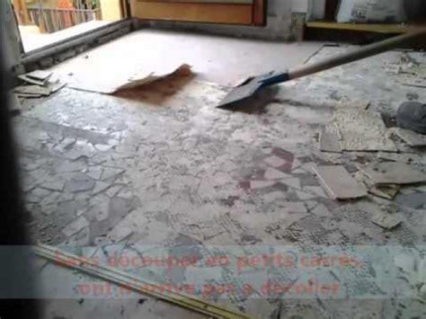 comment decoller enlever une dalle en pvc du lino doovi