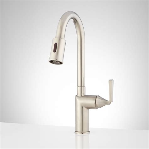 Kitchen Faucets by Mullinax Single Touchless Kitchen Faucet Kitchen