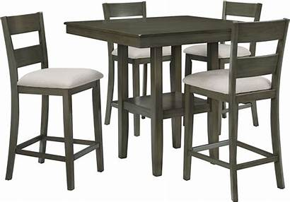 Dining Counter Height Piece Sets Table Chairs