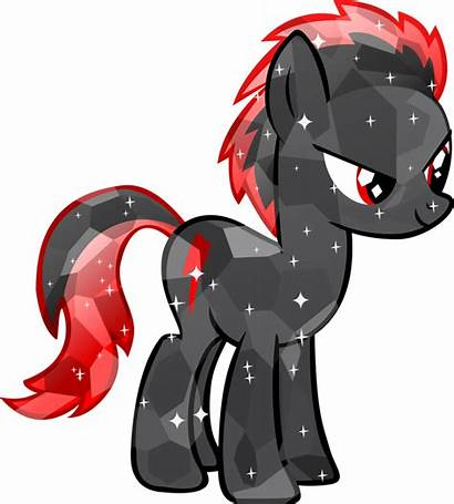 Pony Crystal Ponies Magic Friendship Dark Mlp