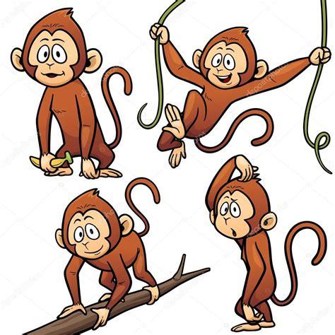 personagem de desenho animado macaco vetores de stock 169 sararoom 117745770