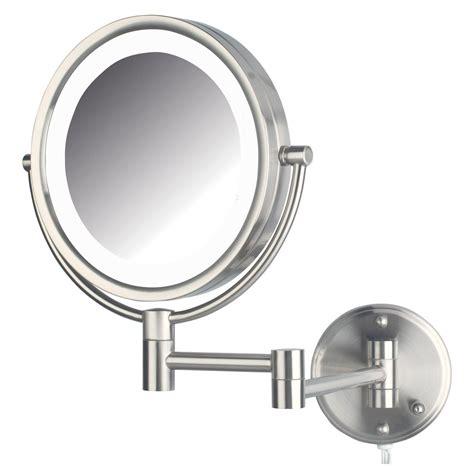 60 bathroom vanity amazon com jerdon hl88nl 8 5 inch led lighted wall mount