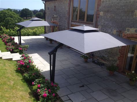 Cantilever Patio Umbrellas Uk by Piazza Side Arm Cantilever Garden Parasol