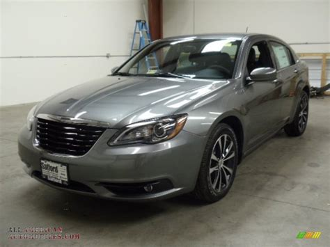 2012 Chrysler 200 S by 2012 Chrysler 200 S Sedan In Tungsten Metallic 145961