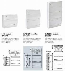 Dimension Tableau Electrique : tableau lectrique nu 1 3 rang es ide combi ip40 ~ Melissatoandfro.com Idées de Décoration