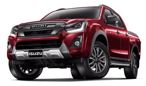 isuzu  max facelift officially revealed  thailand