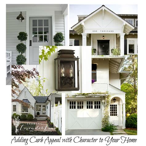 Adding Curb Appeal With Character  Seeking Lavendar Lane