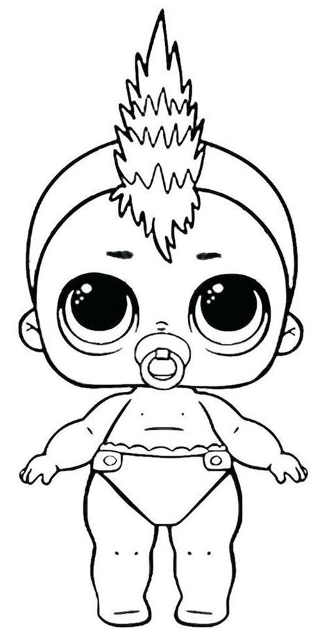 lol dolls coloring pages cool lol dolls coloring