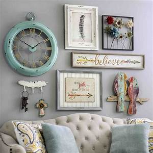 Elegant country chic wall decor about my
