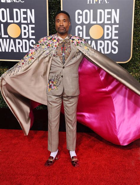 Golden Globes Pose Star Billy Porter Does The Damn