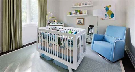 crib  center   room contemporary nursery