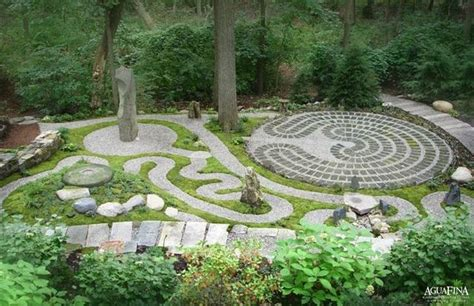 garden labyrinth plans meditation garden backyard landscaping ideas pinterest