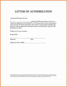 Sample Authorization Letter Granting Permissionthorization