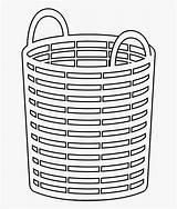 Basket Laundry Coloring Checklist Evaluation Clipart Pngkey Clipartkey Transparent sketch template