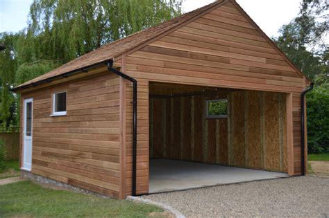 built cedar clad garage colt houses