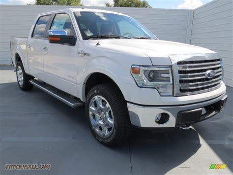 ford truck white 2013 ford f150 king ranch supercrew 4x4 in white platinum